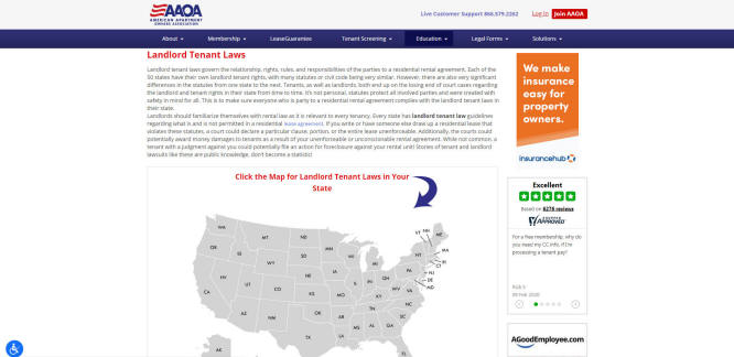 U.S. Tenant-Landlord Law by State