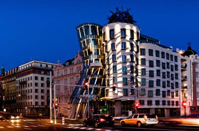 The dancing house