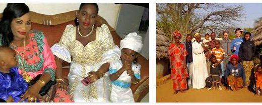 Families in Senegal